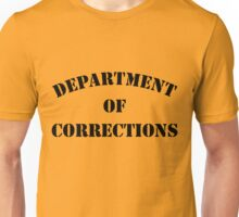 Department of Corrections Unisex T-Shirt
