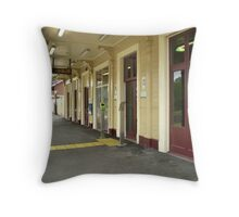 Williamstown Railway Station No.1. Throw Pillow