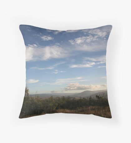 Beautiful Light, Omeo Valley Throw Pillow