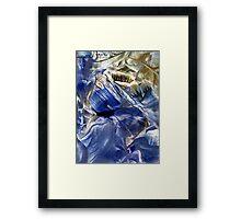 Neptunian sapphire Framed Print