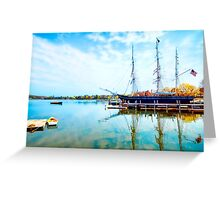 Picturesque Morning Greeting Card