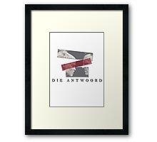DIE ANTWOORD Framed Print
