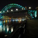 The Tyne Bridge, Newcastle by David Lewins LRPS