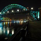 The Tyne Bridge, Newcastle by David Lewins