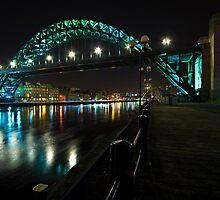 The Tyne Bridge, Newcastle by David Lewins