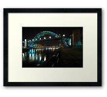 The Tyne Bridge, Newcastle Framed Print