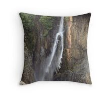 Forked Tongue Falls Throw Pillow