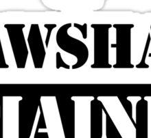Property Shawshank Maine Prison Sticker