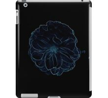 Blue flower in the middle of the night iPad Case/Skin