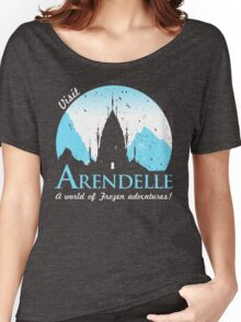 Visit Arendelle Women's Relaxed Fit T-Shirt