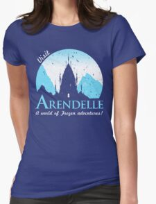 Visit Arendelle Womens Fitted T-Shirt