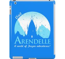Visit Arendelle iPad Case/Skin