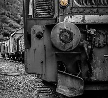 Old locomotive by kennethmlgaard