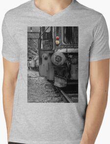 Old locomotive Mens V-Neck T-Shirt