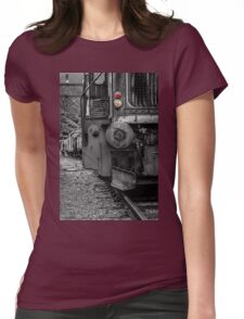 Old locomotive Womens Fitted T-Shirt