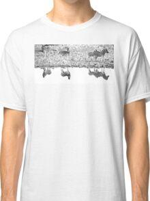 A Reflective Moment - Etosha National Park Namibia Classic T-Shirt