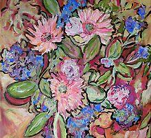 Anna's Flowers by Julie-Ann Vellios