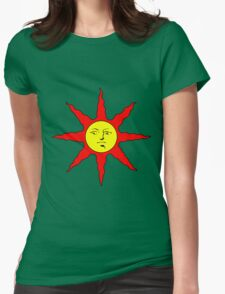 Praise the Sun!!! Womens Fitted T-Shirt