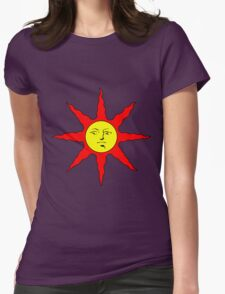 Praise the Sun!!! Womens Fitted T-Shirt