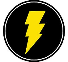 Lightning bolt - Music Photographic Print
