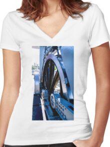 Pivot Point Women's Fitted V-Neck T-Shirt