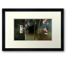 Tell me the story of an enchanted place Framed Print