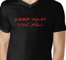 Keep What You Kill Mens V-Neck T-Shirt