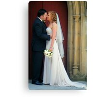 wedding photos Canvas Print