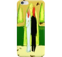 BLUSHING BRIDE AND GROOM 2 iPhone Case/Skin