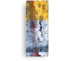 So Gradual The Grace - abstract mixed media painting on canvas Canvas Print