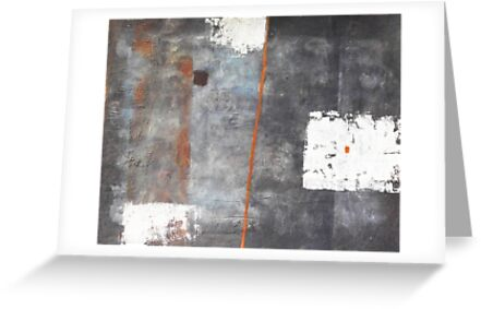 Perception of an object - abstract mixed media on canvas by Marco Sivieri