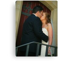 wedding photo Canvas Print