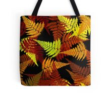 Abstract Fern Tote Bag
