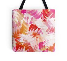 Abstract Paint Pattern Tote Bag