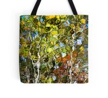 Abstract Tree Reflection Tote Bag