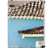 In the middle of town  iPad Case/Skin