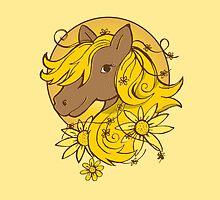 Sunflower Summer Pony by jazzydevil