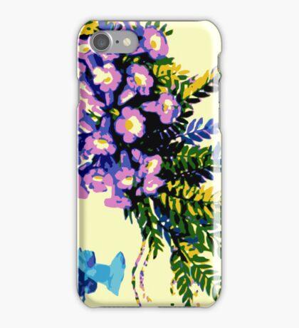 Bermuda Royal Flora Print iPhone Case/Skin