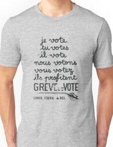 we vote - they profit: french revolution poster Unisex T-Shirt