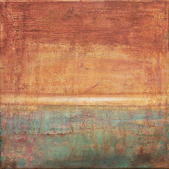 Another Time - abstract oil painting on canvas by Marco Sivieri