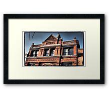 Cotton Exchange Framed Print