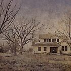 Spooky old house by Julia Goss