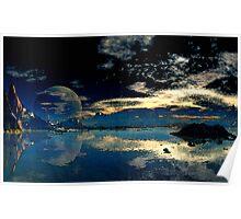 Sundown - Geesh Lake Poster