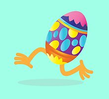 Easter egg running by jazzydevil