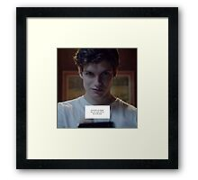 Isaac Lahey - Motel California Framed Print