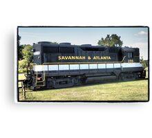 Savannah Express Canvas Print