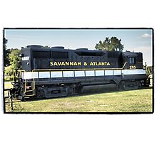 Savannah Express Photographic Print