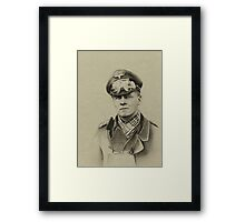 Erwin Rommel (Desert Fox) Framed Print