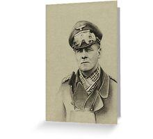 Erwin Rommel (Desert Fox) Greeting Card