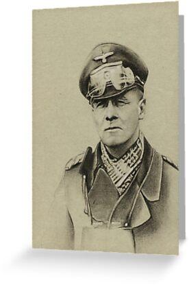 Erwin Rommel (Desert Fox) by Kaitlin Beckett